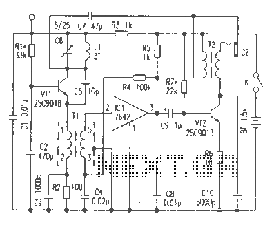 Novel FM receiver circuit diagram under FM Radio Circuits