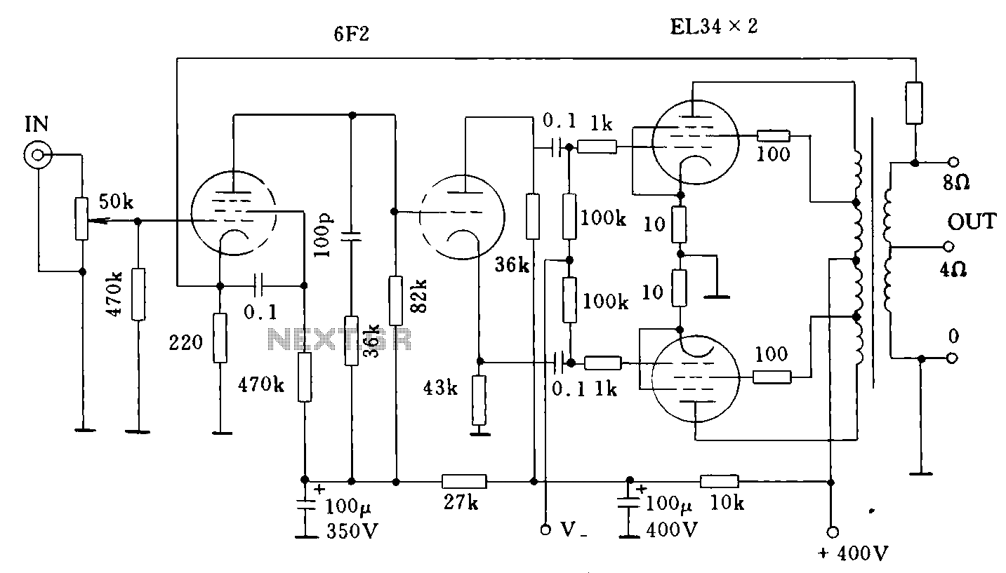 tube amplifier circuit