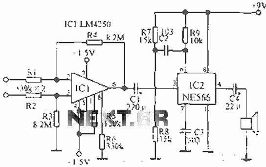 Ecg Circuit Diagram