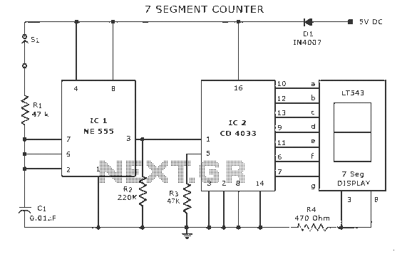 counter circuit : Meter Counter Circuits :: Next.gr