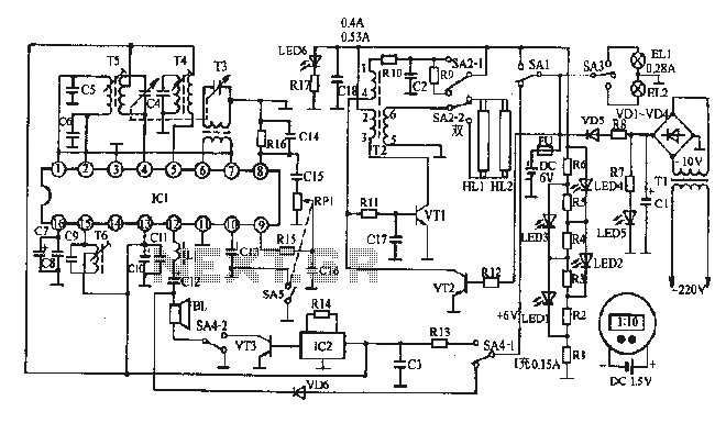photo flash circuit : Video Circuits :: Next.gr