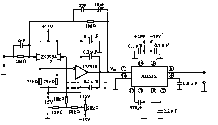 AC RMS and DC converter circuit under Converter Circuits