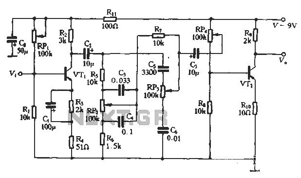 audio tone balance circuit : Audio Circuits :: Next.gr
