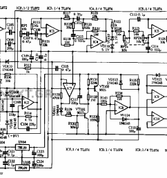 functional subwoofer amplifier circuit schematic [ 1174 x 689 Pixel ]
