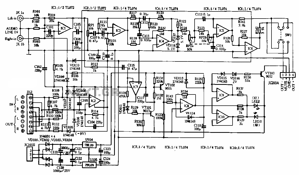 hight resolution of functional subwoofer amplifier circuit schematic