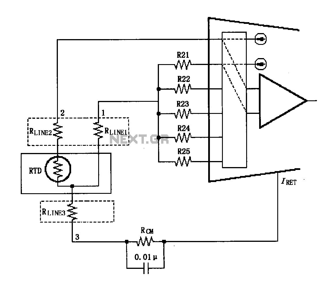 > other circuits > XTR108 circuit diagram of a three wire