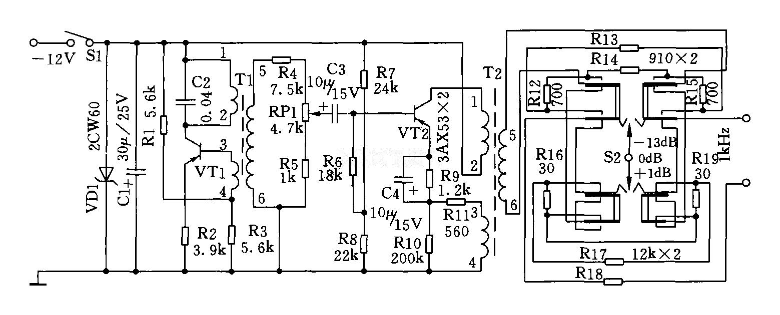 1kHz signal generator circuit diagram under Other Circuits