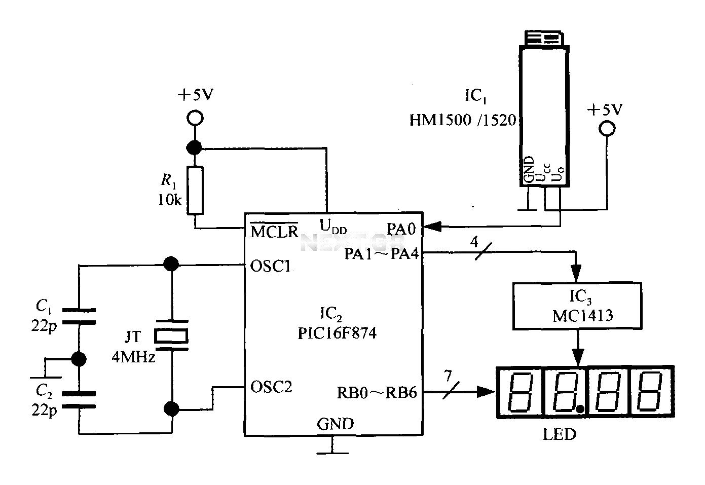 Circuit Microprocessor Symbol