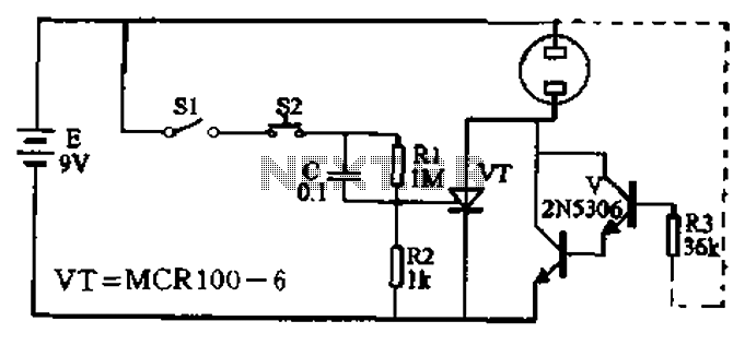 automatic telephone answering circuit diagram