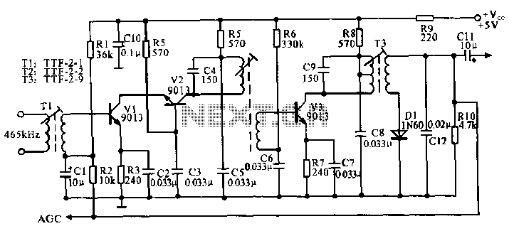 figure 10 mc1496 am modulator circuit