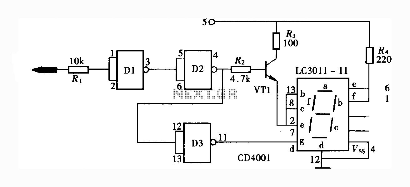 > circuits > Daft Punk Coffee Table 5x5 LED Matrix using