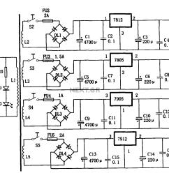 multi output power supply circuit [ 1806 x 1225 Pixel ]
