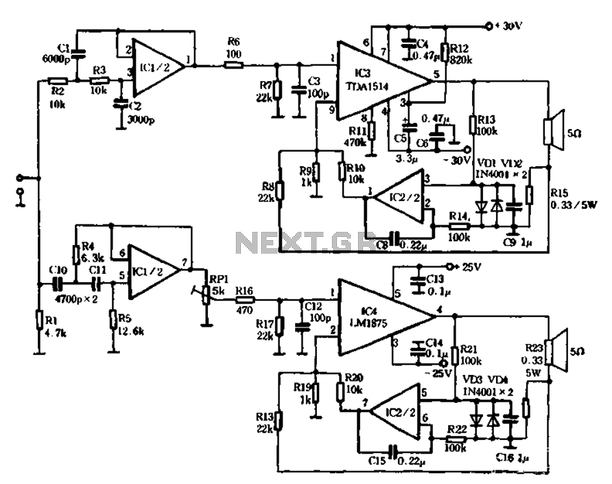 Audio Circuits Schematics