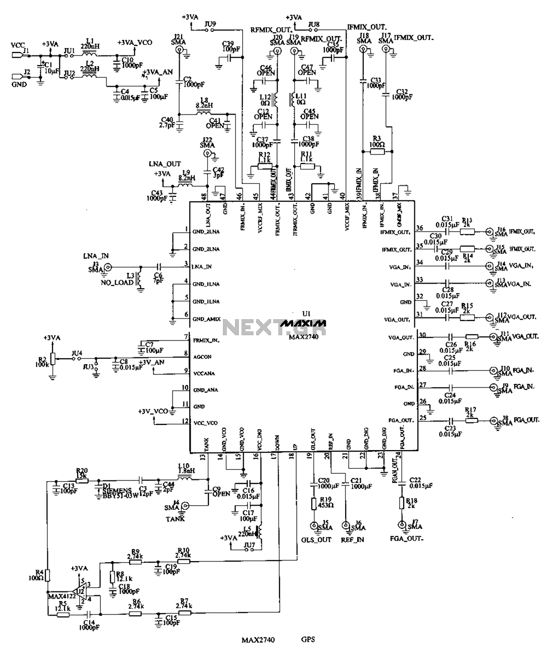hight resolution of results page 128 about gps circuit searching circuits at next gr gps receiver rf frontend circuit basiccircuit circuit diagram