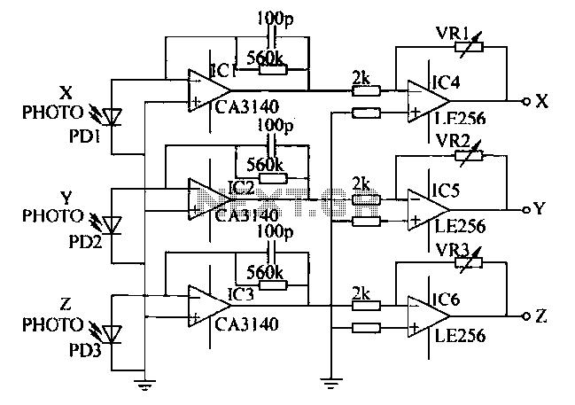 optical circuit : Sensors Detectors Circuits :: Next.gr