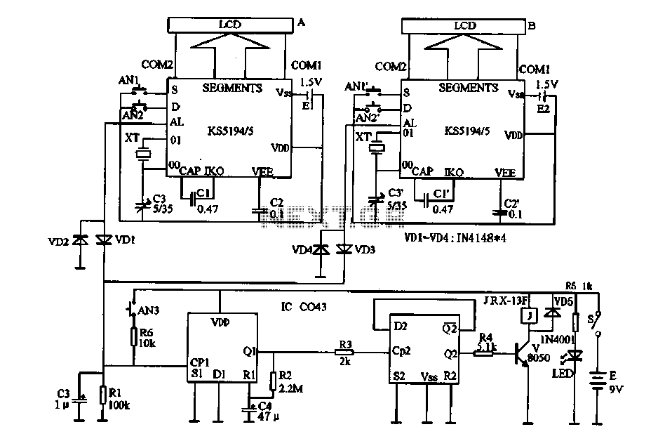 latching relay circuits