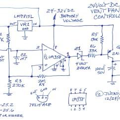 Battery Charge Controller Circuit Diagram 2006 Honda Accord Headlight Wiring Gt Circuits 24 Volt Box Vent Fan Control