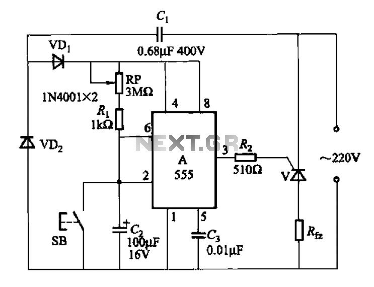 delay circuit : Meter Counter Circuits :: Next.gr