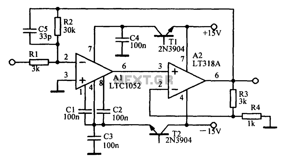 > circuits > Minimalist Mosfet Power Amplifiers l20864