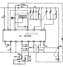 am radio circuit chip [ 1158 x 1112 Pixel ]