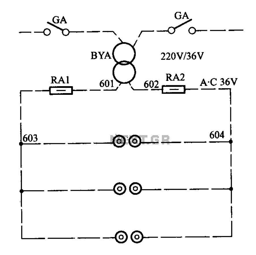 APM-81 elevator control cabinet circuit under Power