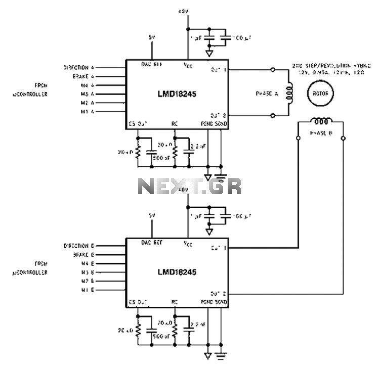 wire stepper motor wiring nema 17 wire circuit diagrams