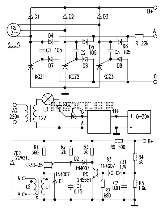 Car maintenance thyristor voltage regulator under Car Bike