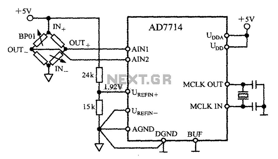 > sens detectors > various circuits > Pressure Measurement