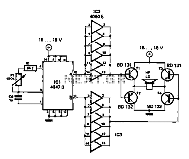 > other circuits > Simple circuit diagram repellent l58900