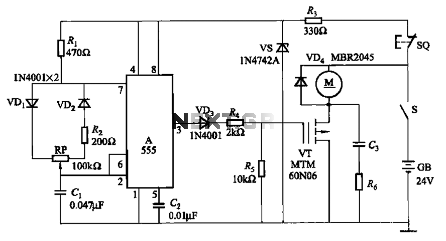 Wiring Diagram For Two Sd Three Phase Motor Electric Motor