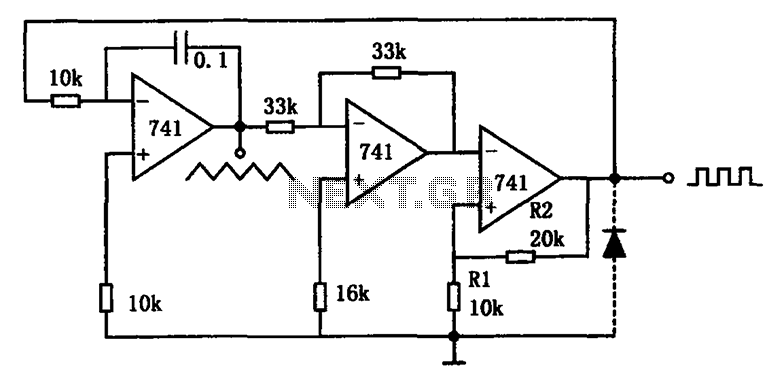 low frequency oscillator 1 schematic
