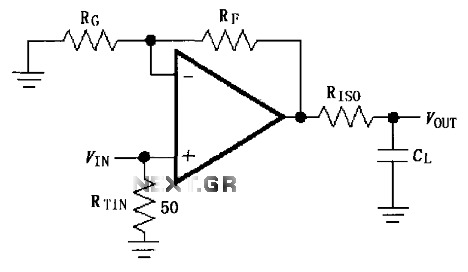 > other circuits > Capacitive load drive circuit diagram