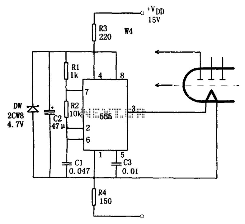 Circuit Voiture Fluorescent. compact fluorescent lamp