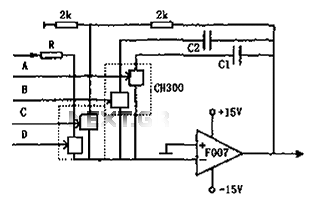 Controllable integrator F007 schematic under Power Control