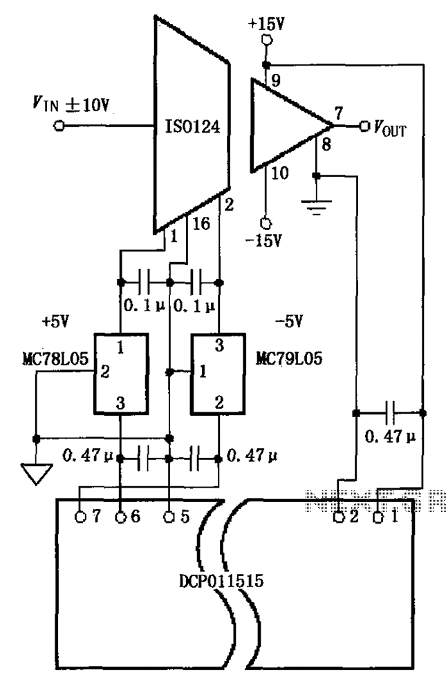 Improve power supply rejection ratio PSR circuit diagram