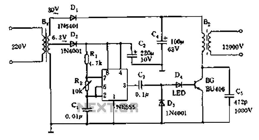 High Voltage Circuit Diagrams : 29 Wiring Diagram Images