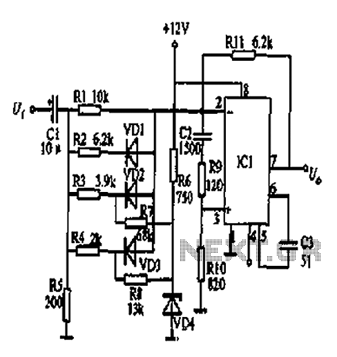 > other circuits > Square transform circuit diagram l59553