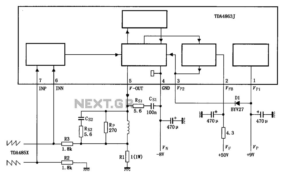 > sens detectors > liquid > Automatic water tank circuit
