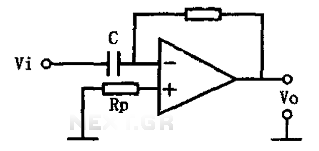 The basic circuit diagram of a differentiator under Other