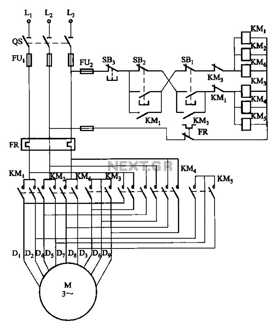 part winding motor starter wiring diagram