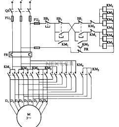 motor control circuit page 5 automation circuits next gr 2y 2y connection two speed motor contactor [ 891 x 1052 Pixel ]