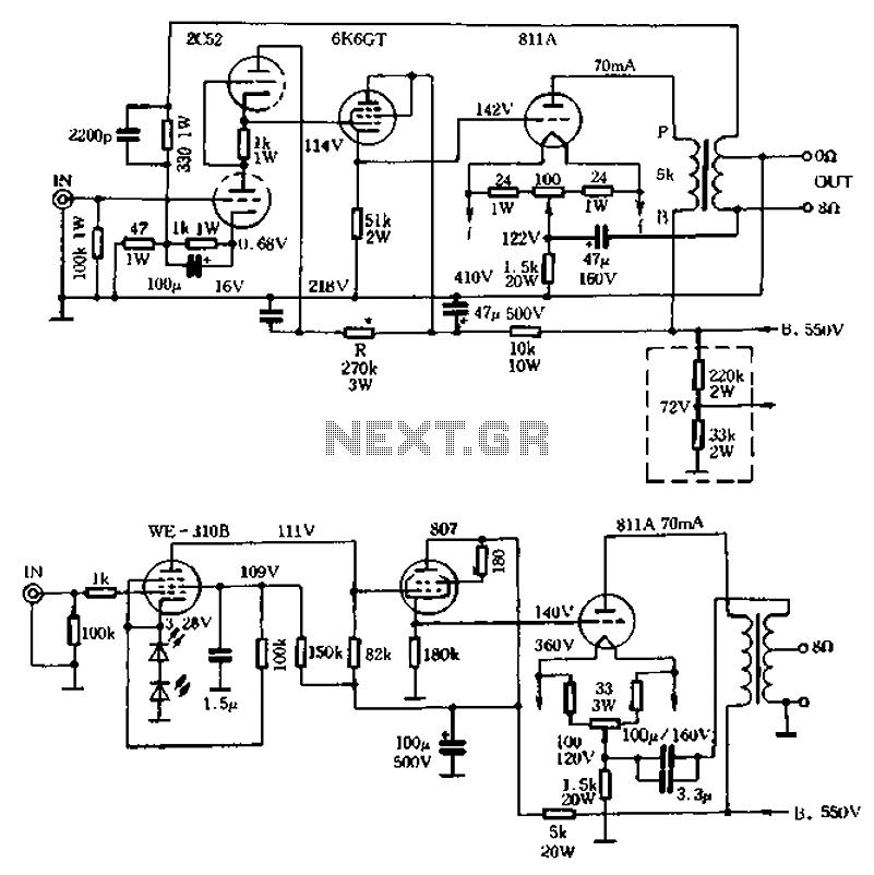 vacuum tube valve circuit Page 2 : Audio Circuits :: Next.gr