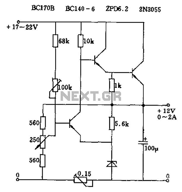 to the voltage regulator these resistors determine the voltage