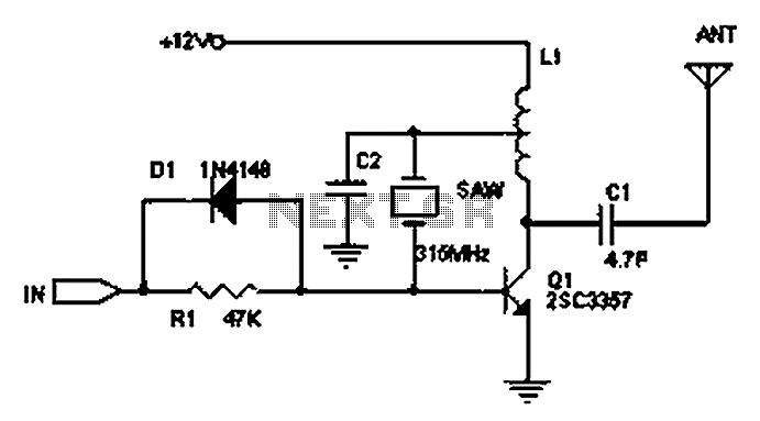 Based on Bluetooth wireless transmission-reception circuit