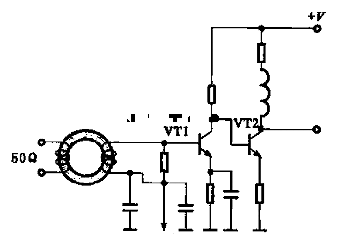 Broadband high frequency amplifying circuit under Other