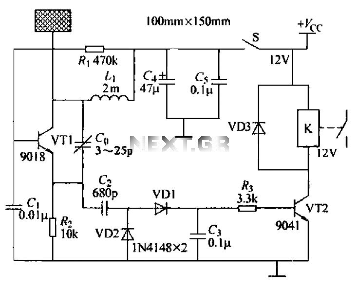 Car Alarm Proximity Sensor