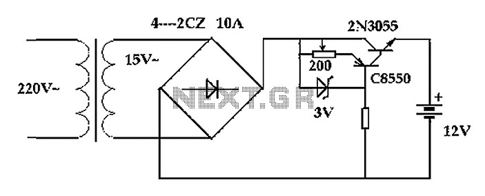 Battery Charger Circuit Diagram : 31 Wiring Diagram Images