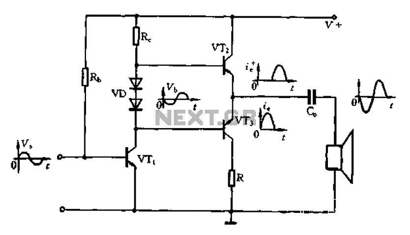 Complementary symmetry push-pull circuit under Other