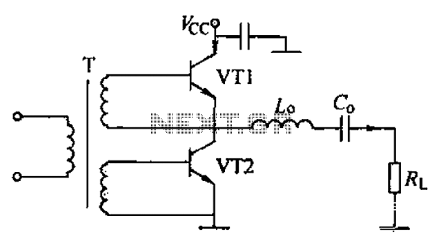 Complementary voltage switching Class D amplifier circuit