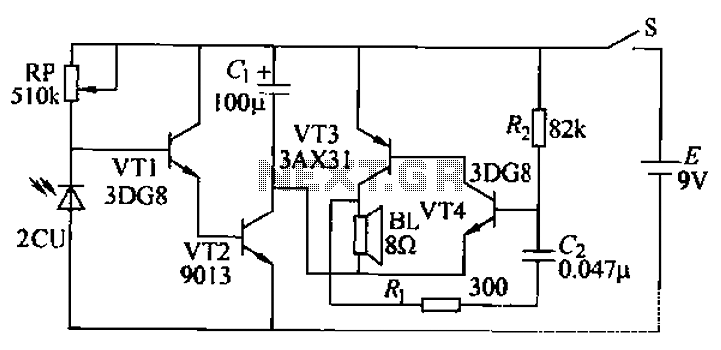 Gas flameout alarm circuit under Air-Gas Detection